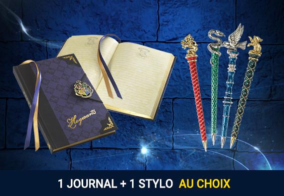Pack journal + stylo Harry Potter