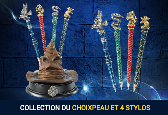 Collection Choixpeau et 4 stylos